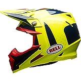 BELL caschi MX 2017moto-9Flex morsa da adulto casco, blu/giallo, taglia M