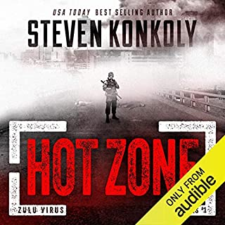 Hot Zone audiobook cover art