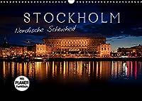 Stockholm - Nordische Schoenheit (Wandkalender 2022 DIN A3 quer): Die Stadt der Inseln (Geburtstagskalender, 14 Seiten )