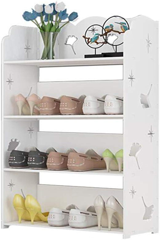 JCAFA Shelves Bookshelf Bathroom Storage Rack Floor Cabinet Living Room Multifunctional Rack Multifunctional Carved Shelf (color   A, Size   23.62  10.23  37.40in)