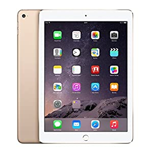 Apple iPad Air 2 64GB Wi-Fi : Gold (Renewed) 5