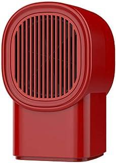 sxhw Mini Soplador De Aire Caliente De Escritorio-Rojo Calentador De Ventilador De Rápido Calentamiento Calefactor Cerámico De para Cuarto Baño Sistema Antivuelco Protección Calentador De Espacio