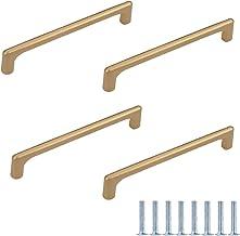 Meubelgrepen, 4 stuks gouden kastgrepen, aluminiumlegering, meubelgrepen, ladegrepen, deurknoppen, handgrepen voor kasten,...