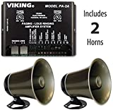 Viking Multi-line Loud Phone Ringer / Pager System with TWO Horns