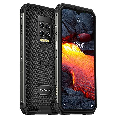 Ulefone Armor 9E Smartphone Resistente, Fotocamera 64 MP, Android 10 Rugged Telefono Cellular IP68, Helio P90 Octa-core 8 GB di RAM 128 GB, FHD + da 6,3 '', NFC, GPS DUAL SIM Impronta Digitale