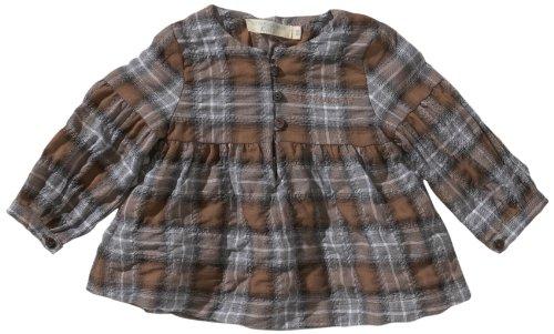 Strenesse Kids Baby - Mädchen Bluse 61104, Gr. 74, Mehrfarbig (325 Iron)