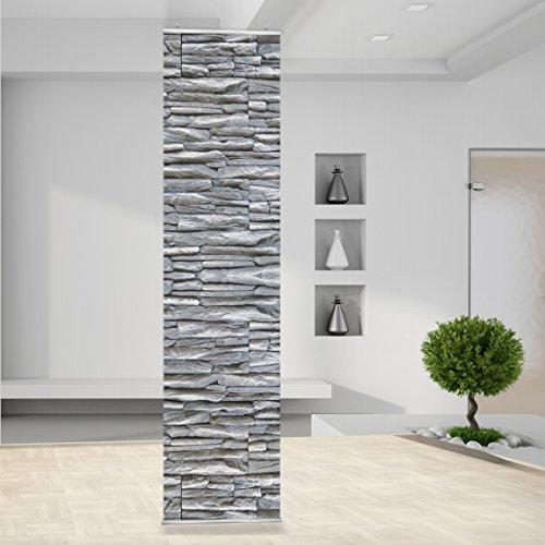 RT60_RID4_2 - Panel separador de ambientes, diseño de muro de piedra