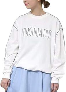 b7ebd78f12ef Camisas Mujer Primavera Otoño Tops Elegante Impresión Carta Especial Estilo  Vintage Sweatshirts Fashion Cómodo Manga Larga
