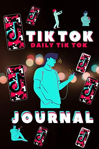 Tik Tok: Daily journal Tik tok Book to draw and write Trendy Tiktok inspiration 120 pages,