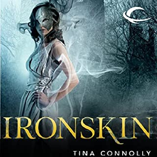 Ironskin audiobook cover art