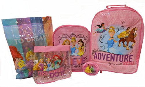 Disney Princess 5-teiliges Gepäck Set