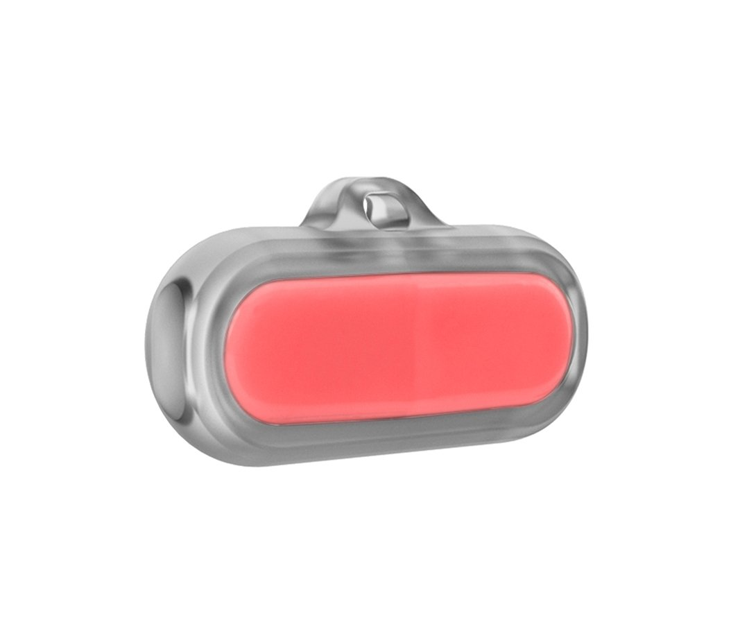 Poof Bean Activity Tracker Coral