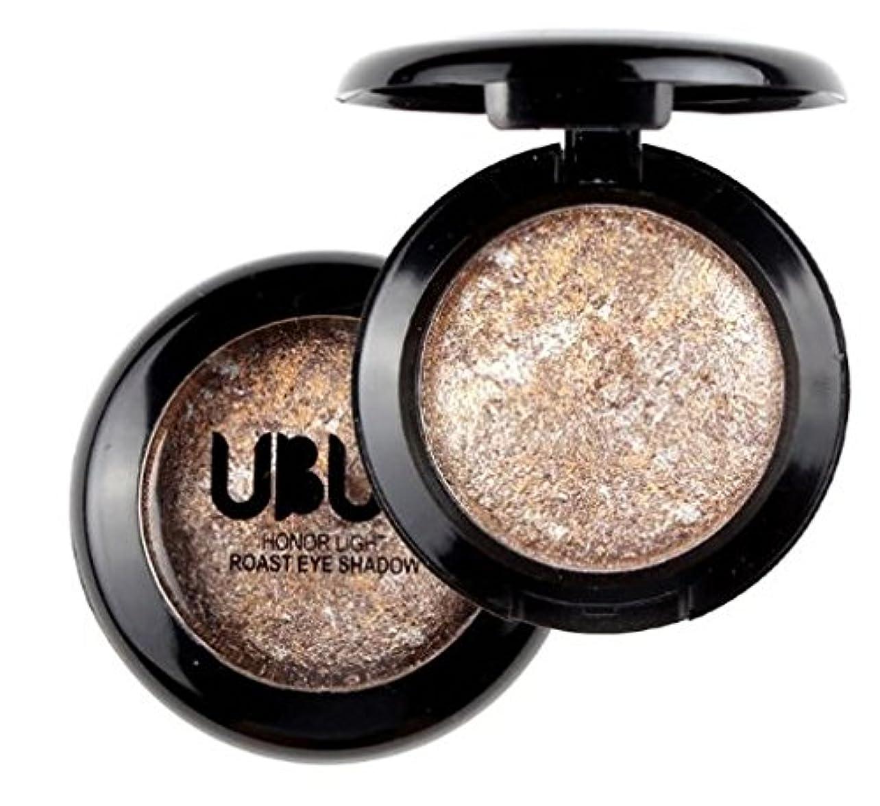 思いやりハンサム熱Brown 1pcs Lady Beauty Single Baked Eye Shadow Powder Palette Eyeshadow Palette