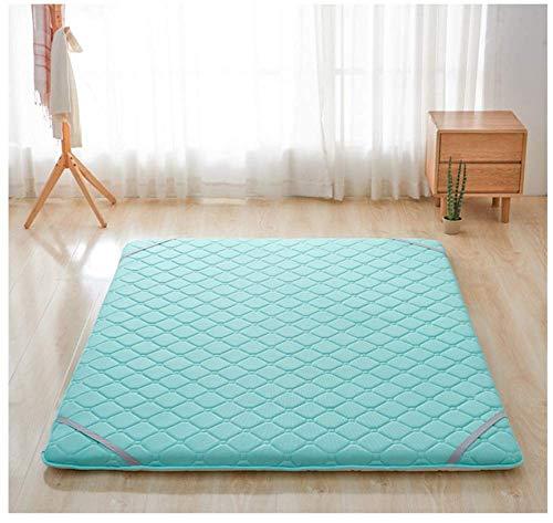 ZXYY matraskussen voor matras Futon Japans met matras grijs kingsize 150 x 200 cm (59 x 79 inch)