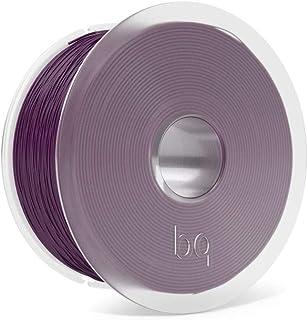 BQ Easy Go - Filamento PLA de 1.75 mm (100% PLA, resistente a la acetona, rápido endurecimiento) color aubergine