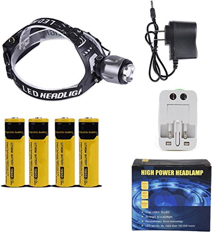 TLMYDD High-Power-LED-Lade-Scheinwerfer Mit Groer Kapazitt Lithium-Batterie Im Freien Nacht Langstrecken-Suchscheinwerfer Taschenlampe (Ausgabe   B)