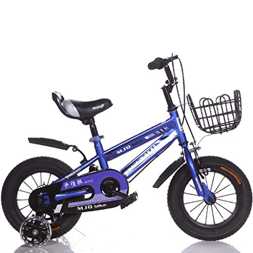 LIMUZI Fietsen for kinderen for jongens en meisjes |Fiets met treinen wielen en basket |Kinderfiets |12,14,16,18 inch |3-8 jaar oud Binnen Buiten