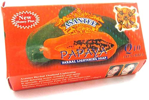 Asantee Thai Papaya Herbal Skin Lightening Soap 125g