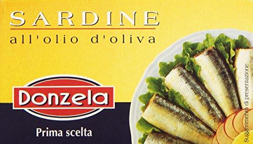 Donzela - Sardine, All'Olio d'Oliva, 125 g
