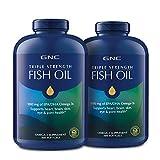 GNC GNC Triple Strength Fish Oil - Twin Pack