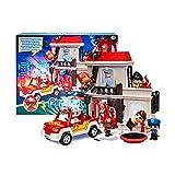 Pinypon Action- Explosion en la mansión, incluye figura bombero y muchos accesorios (Famosa 700016643)