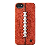 Trexta 18807 Sports Series Snap-On Leather Case for iPhone 5 & 5s - Retail Packaging - Football