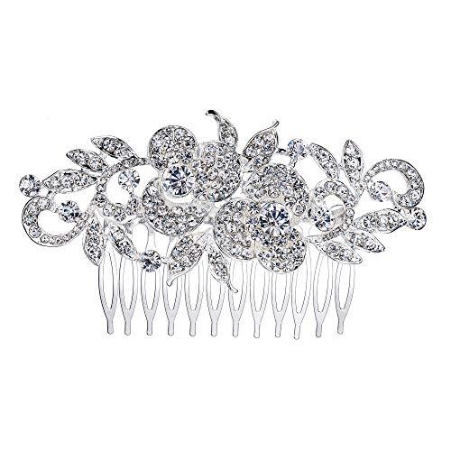 Ever Faith - Peineta para el pelo de boda, accesorios para el...