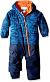 Columbia Kid 's Little Dude Trajes – Super Blue Print, Talla 3/6