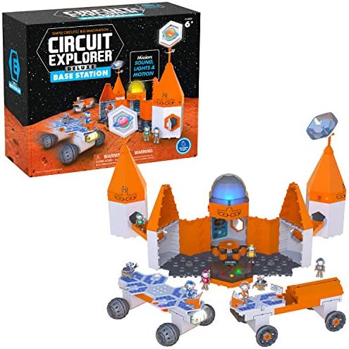 Circuit Explorer Deluxe Base Station Building Set Beginner Circuit Building STEM Toy Perfect product image