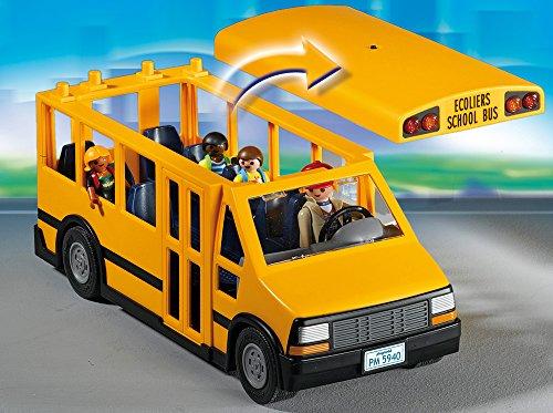 Ensemble Autobus Transport Scolaire École Playmobil - 5680 Écoliers - 1