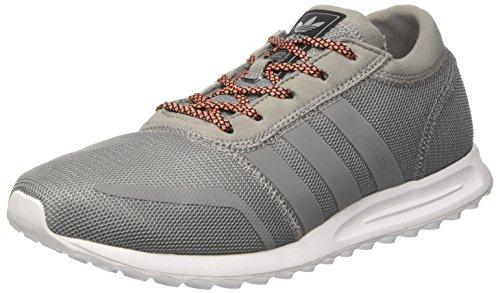 adidas Herren Los Angeles Turnschuhe, Grau, Grau (Ch Solid Grey Ch Solid Greyftwr White), 44 EU