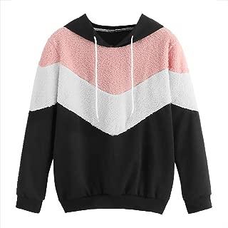 Autumn Winter Women Jumpers Sweatshirt Hoodie Long Sleeve Fleece Hooded Pullover Tops Loose Fit Plus Size