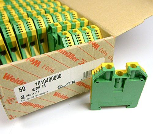 Erdklemme 16 WPE 16 (50 Stk Ref/1010400000)