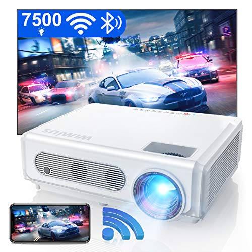 Wimius S6 Projector - Best WiFi Bluetooth Projector