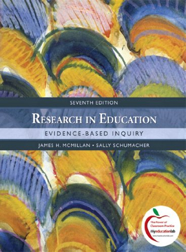 Research in Education: Evidence-Based Inquiry (2-downloads)