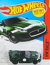 Hot Wheels 2015 HW Race '15 Jaguar F-Type Project 7 185/250, Green