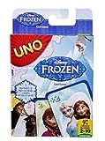 Mattel Games-UNO Frozen, Juego de Cartas (Mattel CJM70), Multicolor