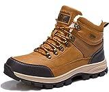 ARRIGO BELLO Hombre Botas Botines Zapatos Invierno Botas de Nieve Cálido Fur Forro Aire Libre Boots Urbano Senderismo Esquiar Caminando 41-46(Camello, Numeric_41)