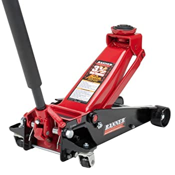 Blackhawk red and black fast lift service jack