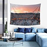 asdew987 Madrid Spain Exhibition Center Plaza Mayor Ifema Feria De Madrid Tapestry Wall Hanging Room Decor Home for Bedroom Living Room Dorm Art Wall Tapestry