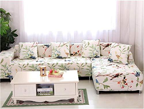 EXQUILEG Sofa Cover 1/2/3/4 Sitzer Elastischer Sofaüberwurf Couch Jacquard Sofahusse,Polyester,Verschiedene Muster (G, 4-Sitzer:235-300cm)