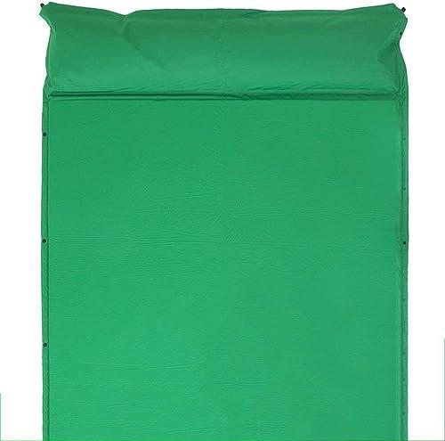 Tapis De Pique-Nique Matelas De Couchage Gonflable pour Augmenter L'épaississement des Tapis De Tente Tapis De Couchage Coussin Extérieur Tapis De Camping 190cm  158cm (Couleur   vert)