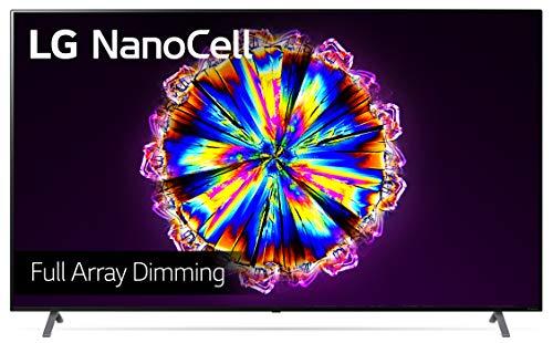 LG 86NANO906NA 217 cm (86 Zoll) NanoCell Fernseher (4K, Triple Tuner (DVB-T2/T,-C,-S2/S), Dolby Vision, Dolby Atmos, Cinema HDR, 100 Hz, Smart TV)  [Modelljahr 2020]