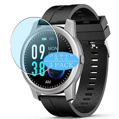 Vaxson 3 Stück Anti Blaulicht Schutzfolie, kompatibel mit Elephone R8 smart watch Smartwatch, Displayschutzfolie Bildschirmschutz [nicht Panzerglas] Anti Blue Light