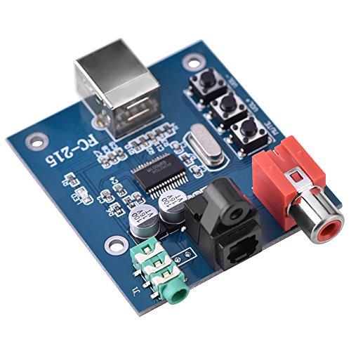 5 V Mini Tragbare PCM2704 USB 3,5mm Audio Soundkarte DAC Decoder Board Freies Laufwerk Modul für PC Laptop HiFi Verstärker