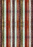 Deco&Fun - Alfombra Vinílica Texture Colorwood Natural 140x200cm - Alfombra PVC Alfombra vinílica Cocina- Alfombra vinílica salón - Alfombras de Vinilo