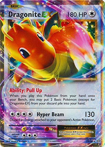 Pokemon - Dragonite-EX (72/108) - XY Evolutions - Holo