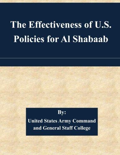 The Effectiveness of U.S. Policies for Al Shabaab