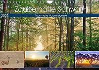 Zauberhafte Schwalm (Wandkalender 2022 DIN A4 quer): Traumhafte Naturerlebnisse in der Schwalm (Monatskalender, 14 Seiten )