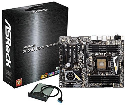 Asrock X79 Extreme6 Sockel 2011 Mainboard (ATX, 8X DDR3 Speicher, 2400MHz, 5X SATA III, 5X USB 3.0)